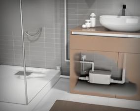 Pompe de relevage douche