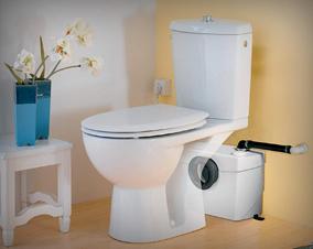 WC Sanibroyeur