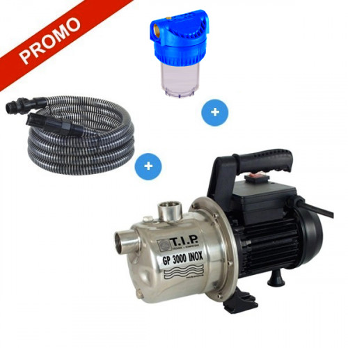 GP 3000 INOX Pompe de surface kit