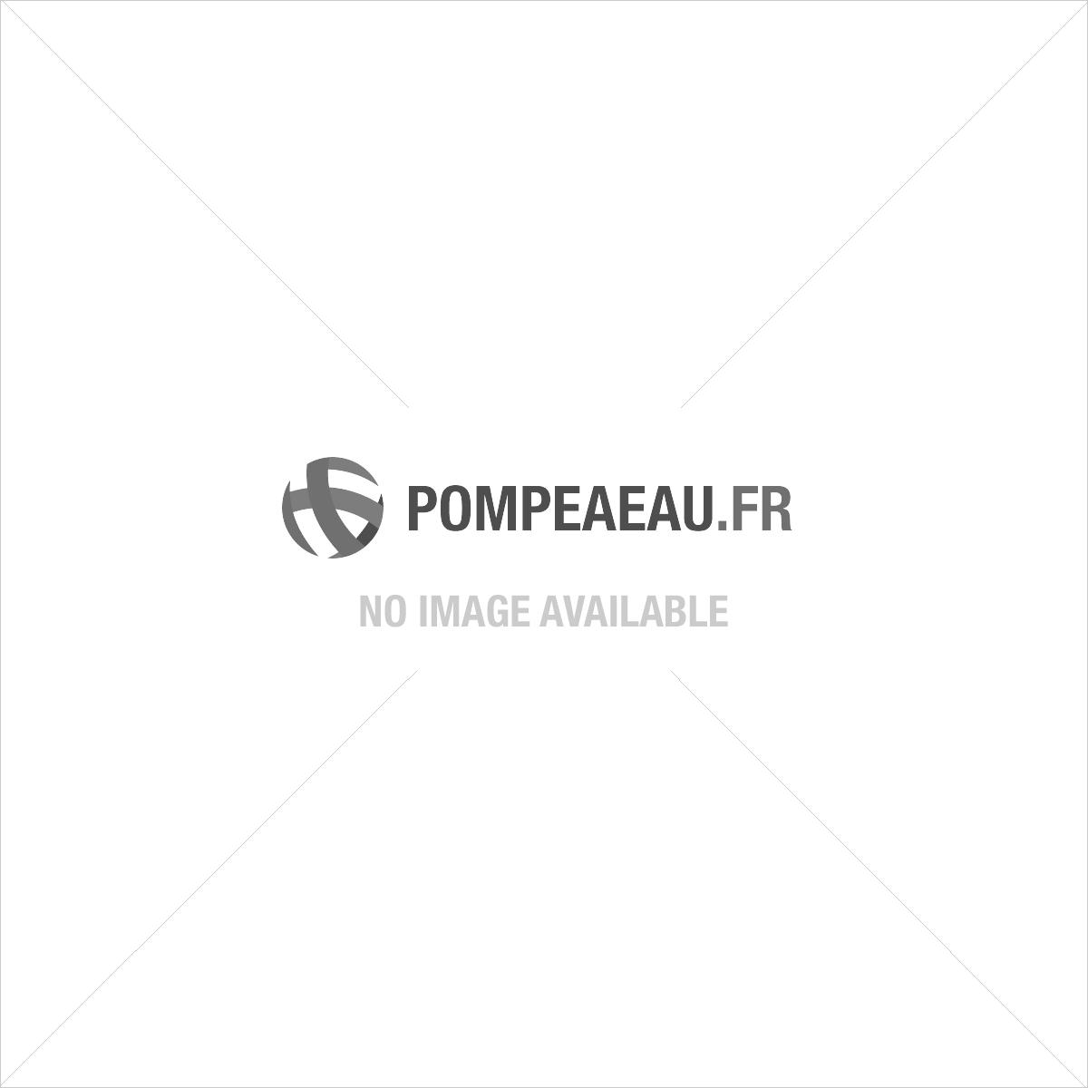 "Raccord cannelé PP 1"""