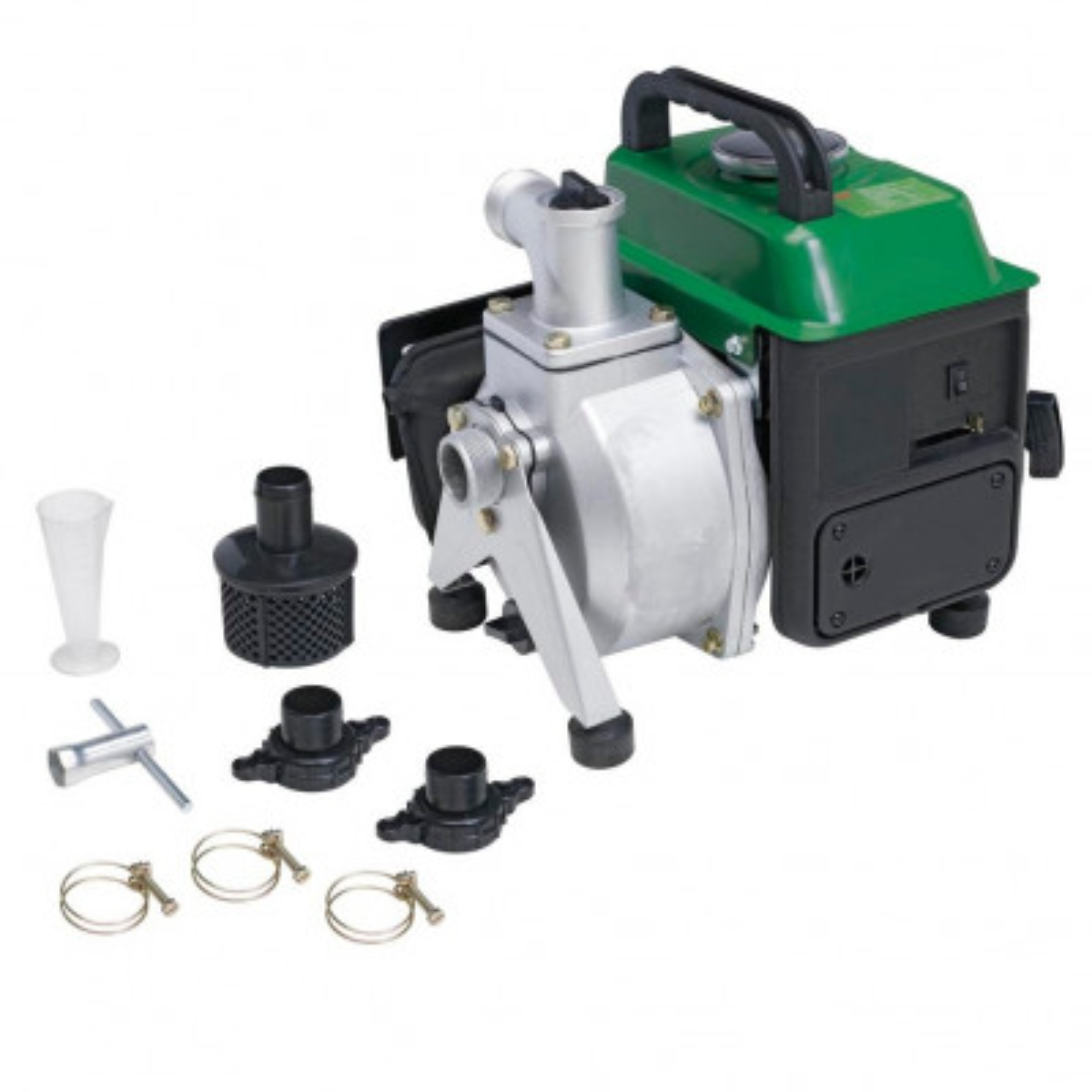 Ribiland Motopompe 18000 l/h 1,5 HP - 2 temps sur pieds
