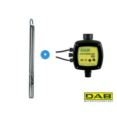 DAB S4E 12M KIT AD Pompe de forage automatique
