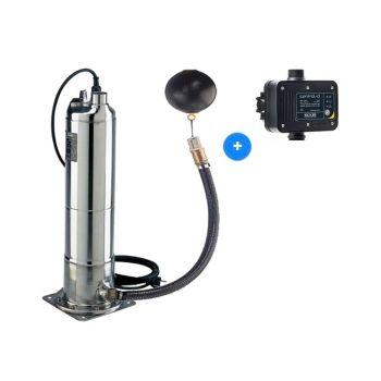 DAB Kit Pulsar Dry 30/50 M-NA + DAB Control-D Pompe à eau de pluie