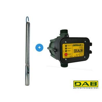 DAB S4 8/15 M KIT + Masscontrol Pompe de forage automatique