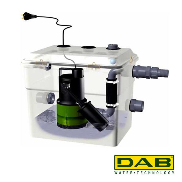 dab novabox 30 300 station de relevage pompe eau. Black Bedroom Furniture Sets. Home Design Ideas