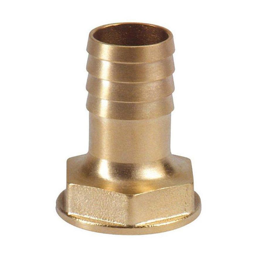 Raccord cannelé laiton 40 mm (1 ½